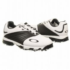 SALE - Oakley EC1327487 Golf Cleats Mens White Leather - Was $170.00 - SAVE $9.00. BUY Now - ONLY $161.50