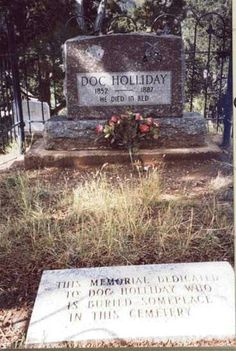 It is said that he is buried in Colorado...