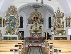 Kuratienkirche Gargellen South Island, All Over The World, Fair Grounds, Travel