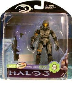 Halo 3 Mcfarlane Toys Series 2 Exclusive Action Figure Spartan ODST (Steel) by Mcfarlane Toys. $19.95. Halo 3 Mcfarlane Toys Series 2 Exclusive Action Figure Spartan ODST (Steel). Halo 3 Mcfarlane Toys Series 2 Exclusive Action Figure Spartan ODST (Steel)