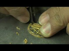 Fabrication bijou Raphaël Griffon - YouTube