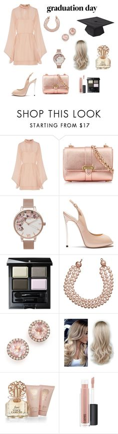 """Graduation Day"" by nresczenko ❤ liked on Polyvore featuring Emilio Pucci, Aspinal of London, Olivia Burton, Casadei, SUQQU, Chanel, Dana Rebecca Designs, Vince Camuto and MAC Cosmetics"