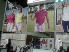 Watch out for the new Jofit coming soon! Photo taken during the PGA Merchandise Show 2014! #golf #pgashow #jofit #golfoutfit #golfapparel #lorisgolfshoppe