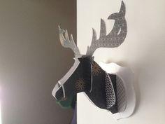 Trophée de chasse tête de cerf décoratif : Décorations murales par zost