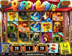 New Puppy Love slot - http://cp4w.com/betsoft-slots/puppy-love.html