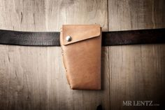 Leather Holster Wallet