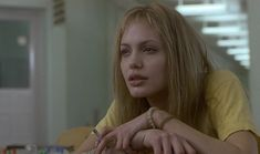 Angelina Jolie Image: Angelina Jolie as Lisa Rowe in 'Girl, Interrupted' Girl Interrupted Lisa, Angelina Jolie Girl Interrupted, Movies Showing, Movies And Tv Shows, Angelina Jolie 90s, The Truman Show, Movie To Watch List, Gone Girl, Film Aesthetic