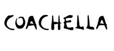 The Coachella Music Festival Logo. Music Festival Logos, Art Festival, Rock Music News, Coachella Festival, Coachella Style, Festivals Around The World, Coachella Valley, Music Promotion, Halloween Disfraces