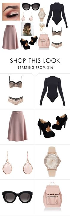 """""""Big Jet Plane// Angus & Julia Stone"""" by justanotherhawksfan on Polyvore featuring Charlotte Russe, Ivy Park, Chicwish, Michael Kors, Muse, Accessorize and Ross-Simons"""
