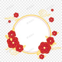 Holiday element festive new year new year simple border flowers red holiday element festive new year new year simple border flowers red Flower Border Png, Simple Borders, Red Images, Chinese New Year 2020, Digital Media Marketing, Image File Formats, Book And Magazine, Boy Art, Page Design