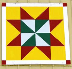Printable Barn Quilt Patterns | Barn Quilts (I've been waiting for this one!)
