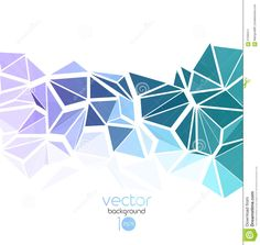 Vector Abstract Geometric Background With Triangle Stock Vector - Image: 67005511