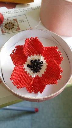 Bead flower #03