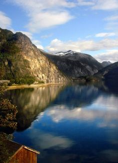 Pretty costly getting there, but very tranquil and beautigul. Geiranger - Norway