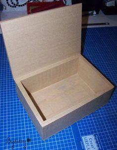 Boîte à thé en carton, Tuto cartonnage - Loisirs créatifs Plus