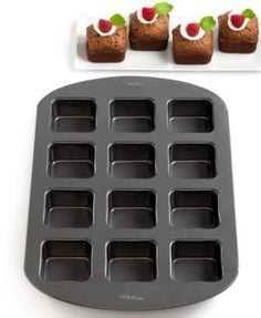 Wilton 12 Cavity Square Brownie Bar Pan