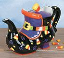 Witches Shoe Teapot