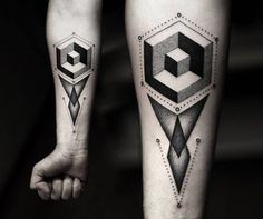Seriously Saturated: Black Ink Tattoos by Kamil Czapiga