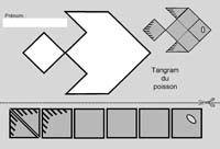 tangram pour maternelle et CP