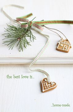 The best love is handmade. So beautifully true!