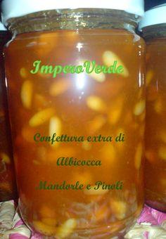 Confettura Extra di Albicocca Mandorle e Pinoli