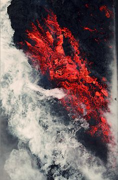 Our Lava Collection comfort furniture is available in Burnt Orange, Ash Gray and Magma Red - perfectly matching this volcano eruption. Apple Wallpaper, Galaxy Wallpaper, Cracked Wallpaper, Wallpaper Wallpapers, Red Aesthetic, Colorful Wallpaper, Aesthetic Wallpapers, Nature Photography, Photography Backdrops
