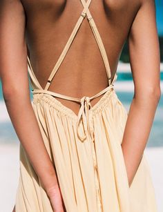 Tropical strappy back maxi dress