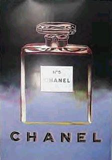 Vintage Chanel poster by Andy Warhol. I covet this.