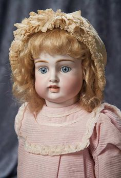"""German Bisque Child Known as """"Kestner Bru"""" with Rare Body 2500/3500 Auctions Online 
