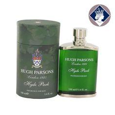 Hugh Parsons Hyde Park 100ml Eau De Parfum Spray EDP Cologne Perfume for Men NEW