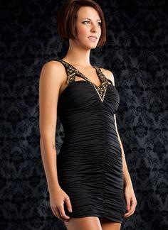 Little black dress with attitude