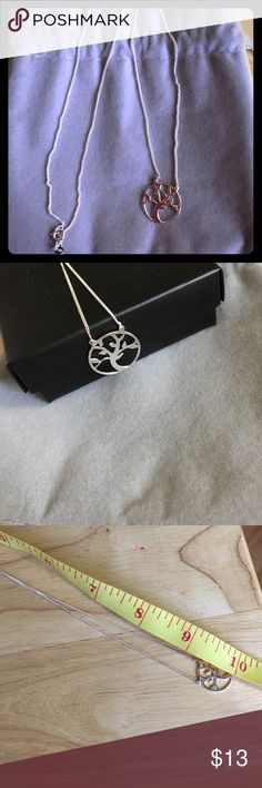 Tree of life necklace Beautiful and delicate tree of life necklace. From Avon. NIB Avon Jewelry Necklaces