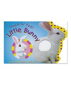 Look what I found on #zulily! Touch 'N' Feel Little Bunny Hardcover by World Publications #zulilyfinds