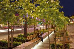 ilumi embaixo do banco Projeto Lonsdale Street, Dandenong  / BKK Architects