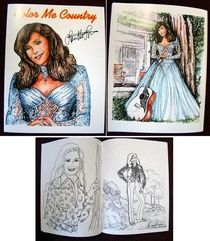 loretta lynn coloring bookyes