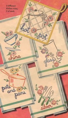 Free Vintage Embroidery Patterns