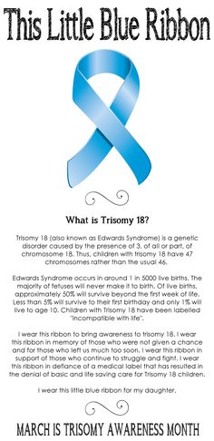 Trisomy 18 Awareness we lost our sweet baby to trisomy 18. But God is in control and always have been! Please read and share to spread awareness in memory of Clayton and so many other precious babies!!