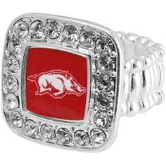 WPS! I love the bling around this ring. Not only do you get to support the hogs, but you get to be sparkly!