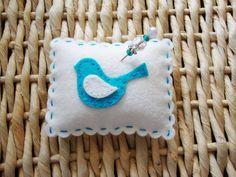Cute birdie pin cushion