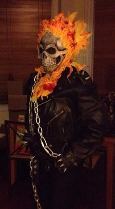 Me as Ghost Rider