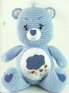 Care Bears Crochet Patterns backwardsgirl