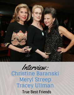 Interview with Christine Baranski, Meryl Streep, and Tracey Ullman for #IntoTheWoodsEvent