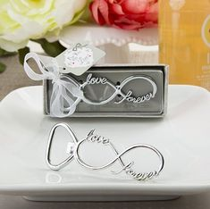 Infinity Design Silver Metal Bottle Opener at Elegant Gift Gallery. We're your number one source for bottle opener favors. Wedding favors and bridal shower favors at discount prices! Beach Wedding Favors, Unique Wedding Favors, Unique Weddings, Wedding Gifts, Wedding Souvenir, Quirky Wedding, Nautical Wedding, Wedding Decorations, Bridal Shower Party