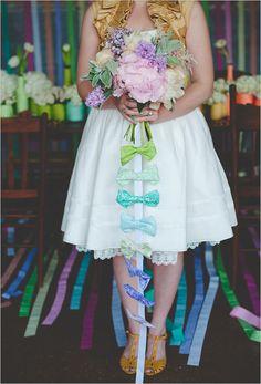 bow tie bouquet