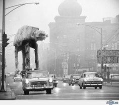 Star Wars in a Foggy Chicago
