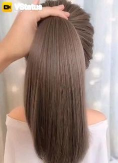 Curled Hairstyles, Pretty Hairstyles, Straight Hairstyles, Hair Styles 2016, Long Hair Styles, Curl Hair With Straightener, Luxy Hair Extensions, How To Curl Your Hair, Braids