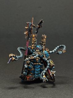 Iron Warriors Warpsmith, Painted by Solmar