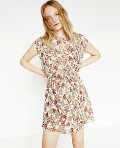 Image 2 of FLORAL DRESS from Zara