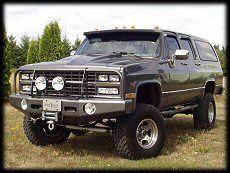 Heavy duty winch bumpers for Chevy trucks GMC trucks mid-80s