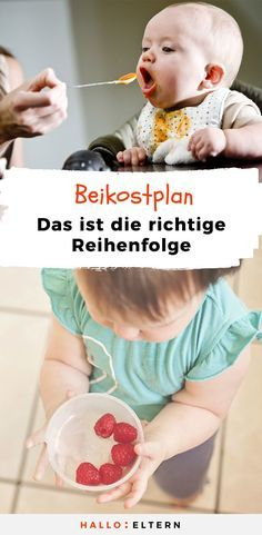 This is the perfect complementary food plan for your So sieht der perfekte Beikostplan für dein Baby aus Which porridge is the first? You can find the ideal complementary food plan here © Bigstock / goldenKB & Pixabay / Kathrin Pie - Baby Led Weaning, Brei Baby, Baby Room Boy, Kit Bebe, Baby Kit, Homemade Baby Foods, Foster Parenting, Parenting Advice, Baby Feeding